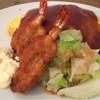 洋食屋 - 料理写真:オムライス大盛り+海老フライ  1000円