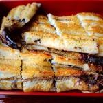 うなぎ 淡水 - 鰻白焼き
