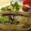 おぼんdeごはん - 料理写真:白身魚とキノコの紙包み焼き:1,296円