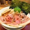 燃えよ 麺助 - 料理写真:特製金色貝そば