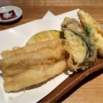 蕎麦あさ田 - アナゴ天