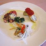 ウロンヤ - 前菜の盛り合わせ