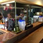 梵平 - the居酒屋な狭い店内です