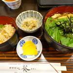おそば処 葵 - 京みぶ菜定食