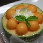 トロアメゾン - 料理写真:メロンボール