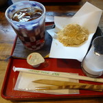 なつめ - 料理写真:わらび餅セット