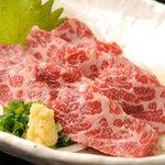 熊本Dining Kitchen 馬刺し 居酒屋 - 料理写真:馬刺し