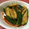 台湾ラーメン光陽 - 料理写真:キュウリキムチ¥350