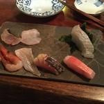 魚秀 - 刺身の盛合せ