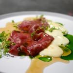 フロリレージュ - サスティナビリティ 経産牛のカルパッチョ
