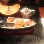 湯回廊 菊屋 - 前菜
