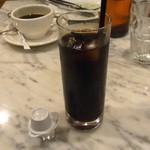 PIZZERIA CAPOLI - アイスコーヒー