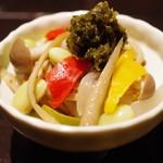かしわや 闘鶏 - 和風ピクルス