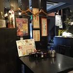 旬彩創宴 貴代 - 店構えと店内は良い雰囲気