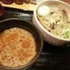 麺屋しみる - 料理写真:【限定】冷やしピリ辛味噌つけ麺2016.7.7