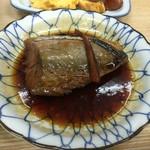 ふみや食堂 - 鯖煮