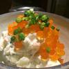 アオギリ - 料理写真:ポテトサラダいくらのせ