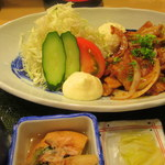 53266155 - 豚の生姜焼き定食