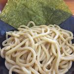 三竹寿 - 味玉濃厚つけ麺の麺
