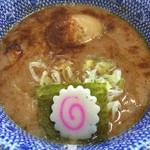 三竹寿 - 味玉濃厚つけ麺スープ