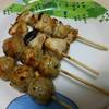 日本一 - 料理写真:塩青じそつくね、塩ひなねぎ