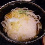琴平製麺所 - とろ玉うどん(大)