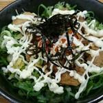 珍遊 - チャー丼+ねぎまよビーム(+100円)