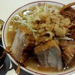 歴史を刻め - カラメ、ニンニク別皿でお願いしました(^^)