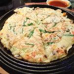 焼肉ひび屋 - 野菜チジミ