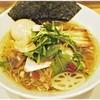 セサミ - 料理写真:鶏SOBA塩+奥久慈味玉 800+120円 このオサレなビジュアル…しかし味はもっと上…!