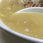 はないち - 塩ラーメンのスープ