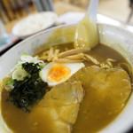 喜楽亭 - 料理写真:カレーラーメン