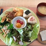 VOID A PART - 料理写真:おにぎりプレート☆
