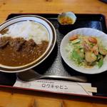 ログキャビン - カレー(700円)2016年7月