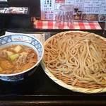金豚雲 - 肉汁うどん 大盛 \850