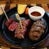 MOMOsキッチン - 料理写真:ステーキ&ハンバーグランチ1780円