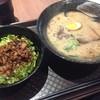 白龍らーめん - 料理写真:ラーメン(640円)とBセットのチャーシュー丼(+300円)