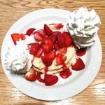 ウォルプタス - 苺とマスカルポーネのパンケーキ