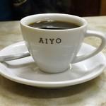 愛養 - ドリンク写真:シンプルなロゴマーク入りカップがお洒落