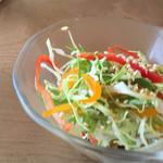 新世界グリル 梵 - 料理写真:セットのミニサラダ