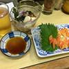 鳥芳 - 料理写真:アオヤギの刺身! ★★★★☆