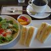 珈琲 遇暖 - 料理写真:2016.07 コーヒー(432円)、サンドセット(+247円)