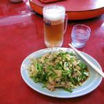 王府 - ニラ豚&生ビール