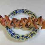 ラ ブーランジェリー オーベルジュ - 料理写真:大葉と練り梅のベーコンエピ210円。