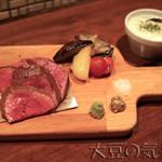 六本木 肉とワイン Uchibito - オリーブ牛