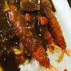 レストラン ふる里 - 料理写真:エビフライカレー