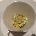 リストランテ テルツィーナ - 料理写真:リコッタチーズと枝豆のムース