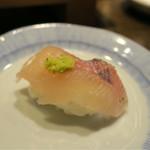 小川の魚 - 201607 シャリに乗せてヤマメ寿司