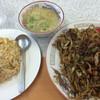 歩味 - 料理写真:焼きそば炒飯[小]セット ¥720 [税込]