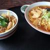 ドライブイン両国 - 料理写真:ラーメンセット(焼肉丼)